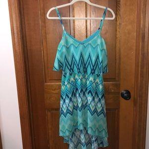 Spaghetti straps summer dress